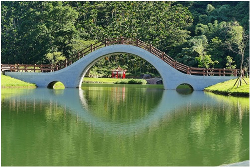 Guangfu Township alone has three tourist attractions that are worth recommendation.  (Photo courtesy of Soil and Water Conservation Bureau)