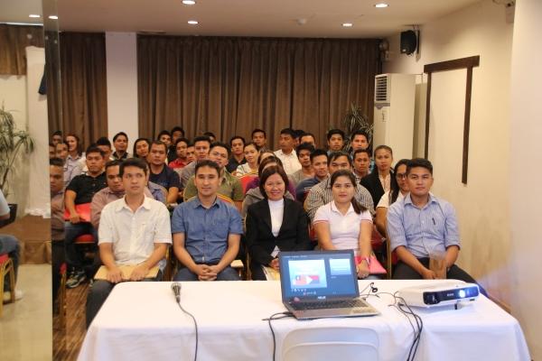 Filipino applicants in Davao City.