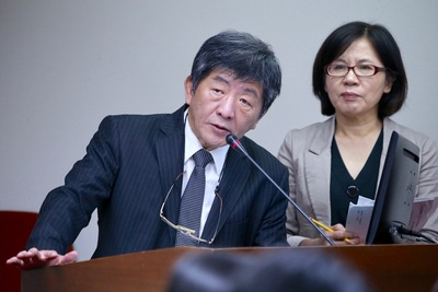 Chen speaks about issues regarding the legalization of artificial reproduction at the Legislative Yuan.
