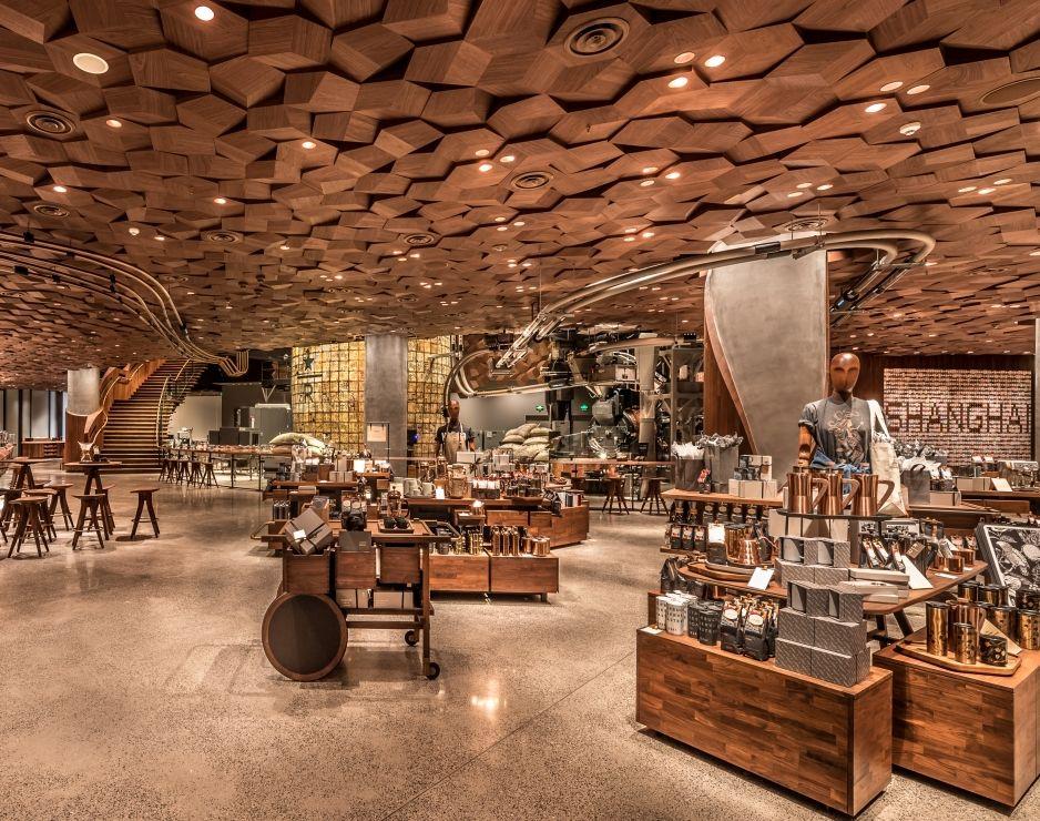 此店為星巴克推出新概念系列店鋪首次在美國境外設點。(來源: Starbucks Newsroom, https://news.starbu
