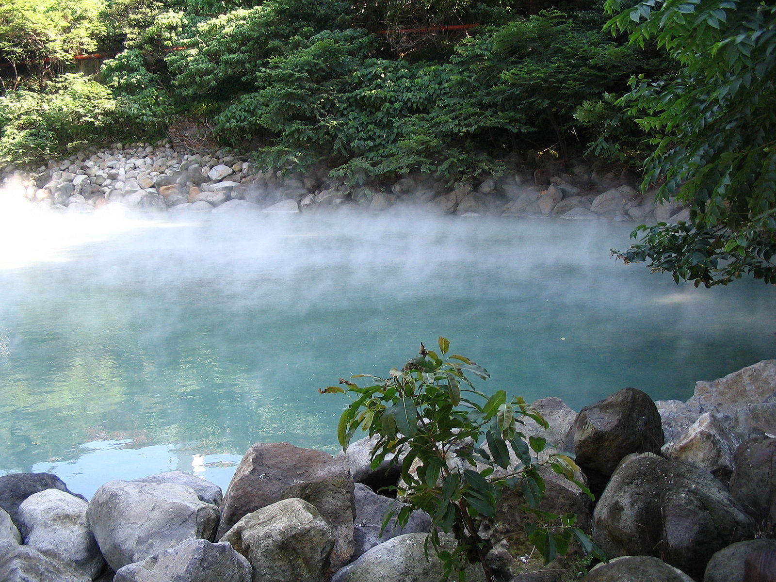So many hot springs to choose from!