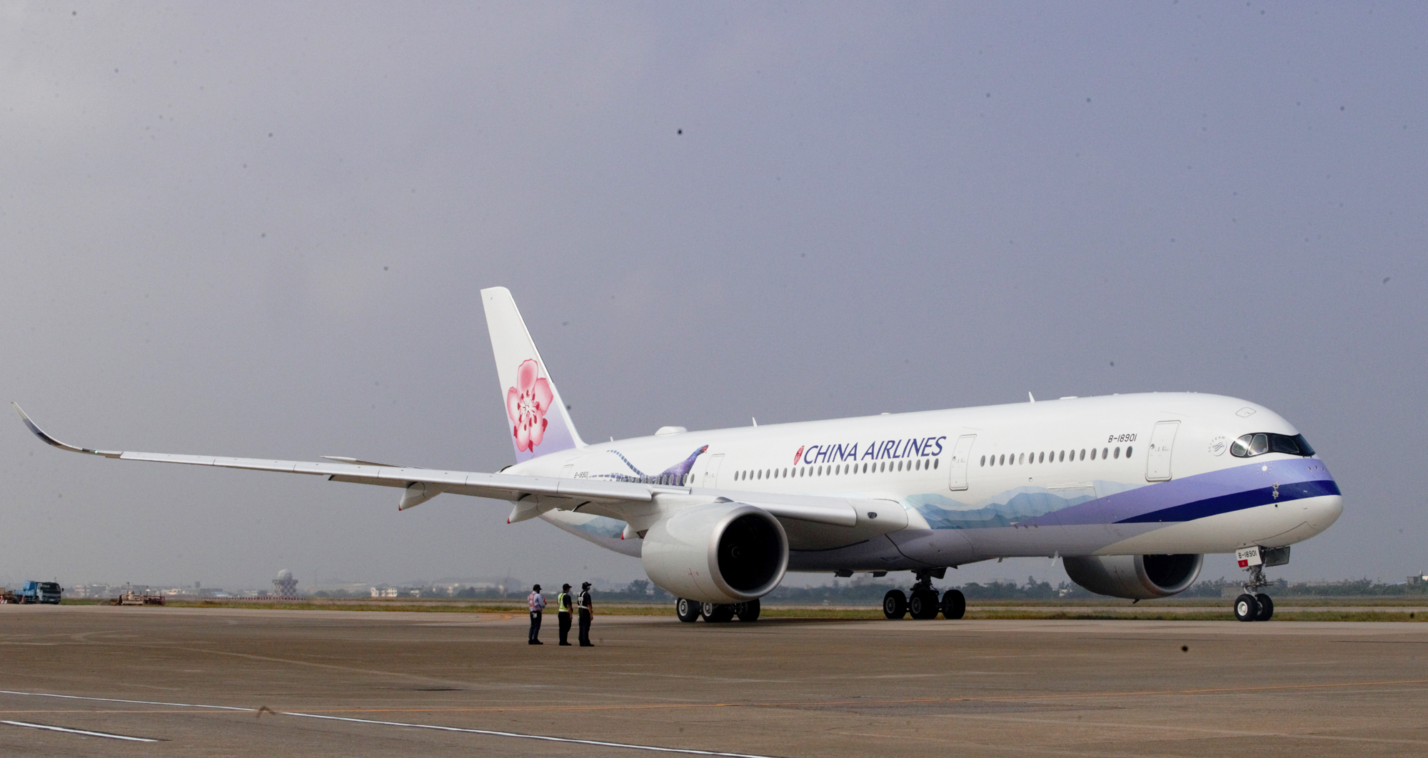 A China Airlines aircraft.