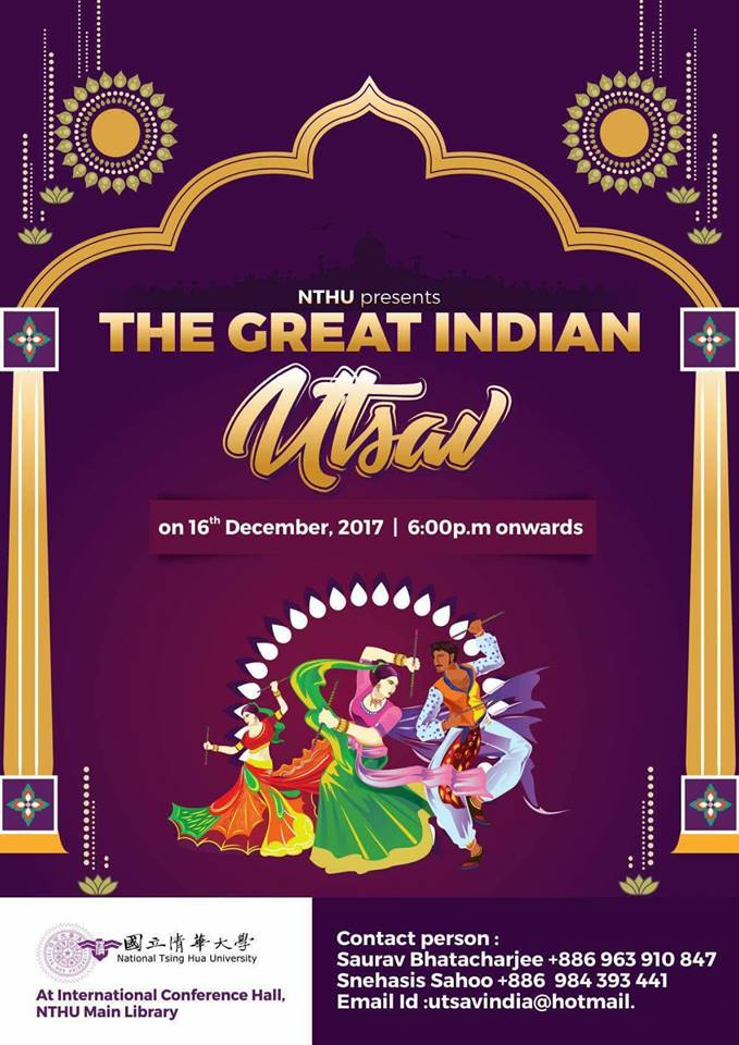 Image from the Great Indian Utsav Facebook page