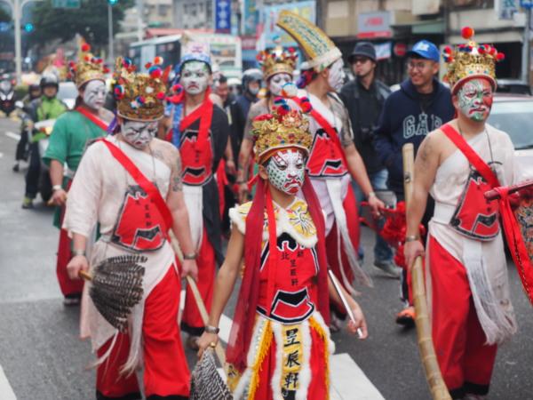 Photos of Taipei's Qingshan Temple festival
