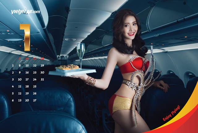 Vietnamese Airline Releases 'Spicy' Calendar