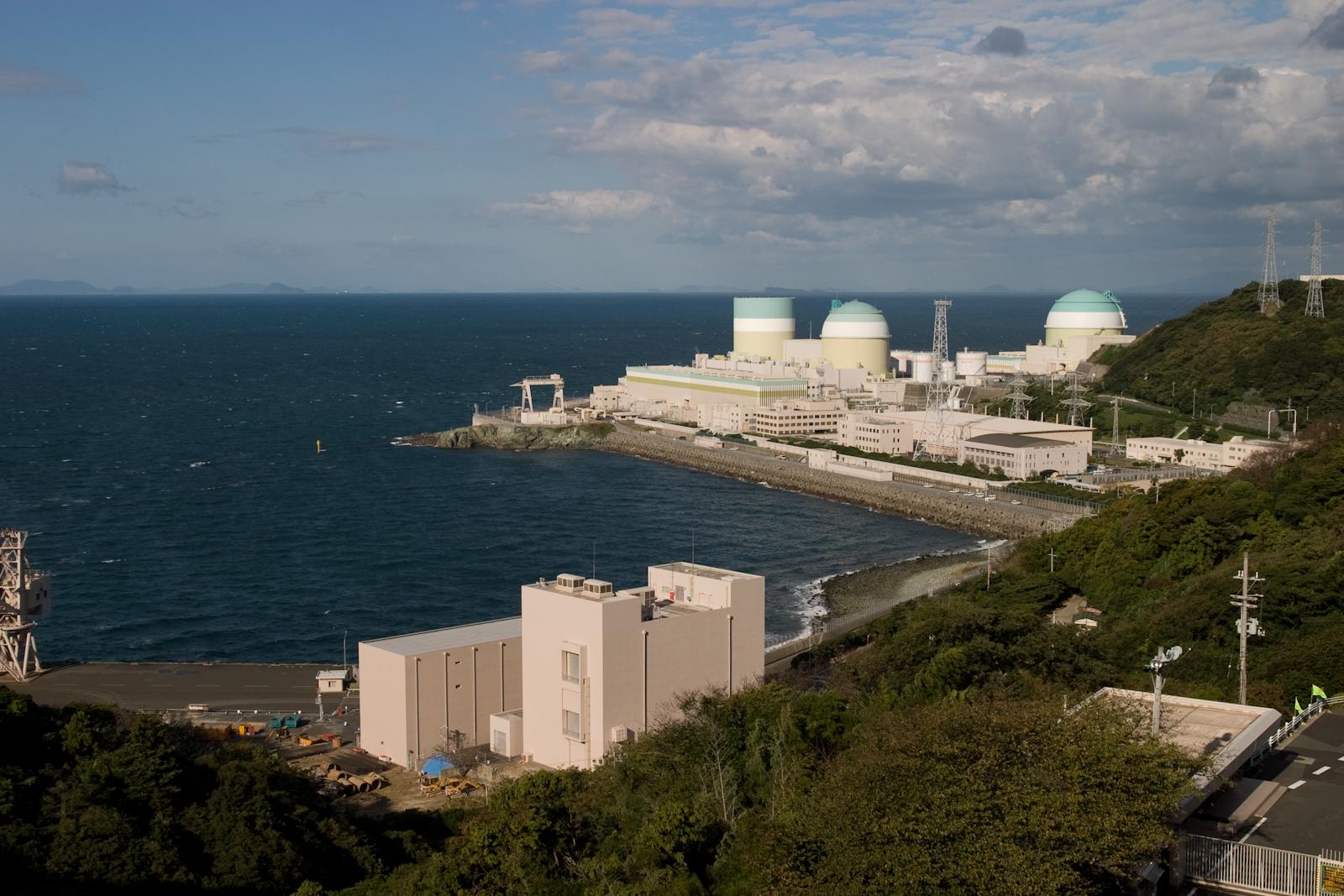 伊方核電廠(圖片來源:維基百科)