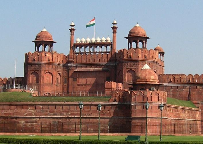 New Delhi's Red Fort, photo courtesy of Alex Furr.