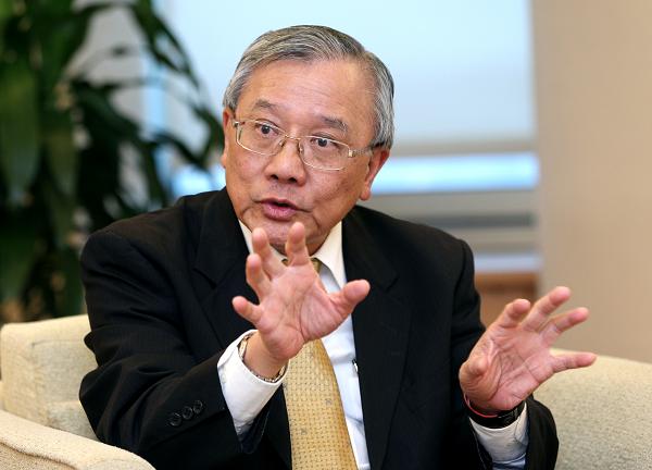 Taiwan's CPC Chairman Tai Chein (戴謙)