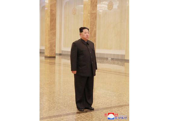北韓領袖金正恩(圖片來源:朝鮮中央通信)