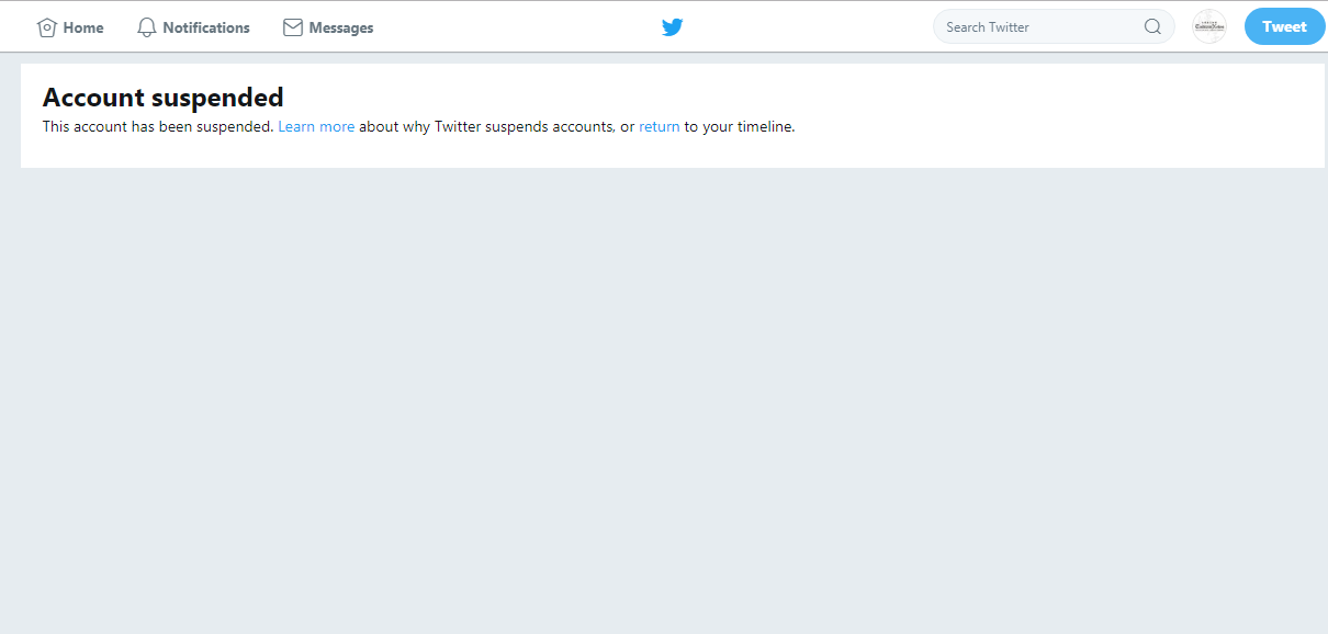 近日兩位英國極右派政治人物的Twitter帳號遭暫時停權,原因是兩人的發言違反Twitter的仇恨言論條款。(截圖自Britain Fir...
