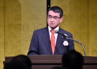 日本外務大臣河野太郎(圖片來源:日本外務省官網)
