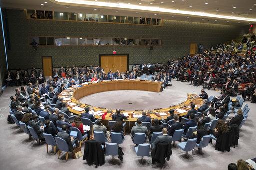 聯合國安理會15日討論北韓議題(圖片來源:美聯社)
