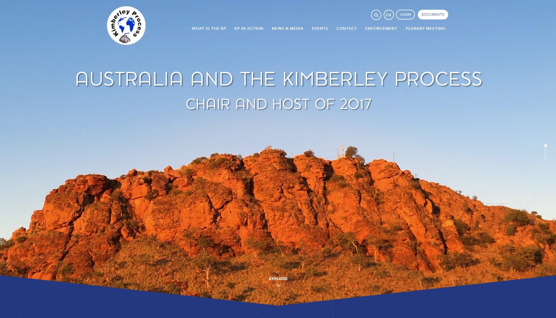 圖片擷取自Kimberley Process 官網