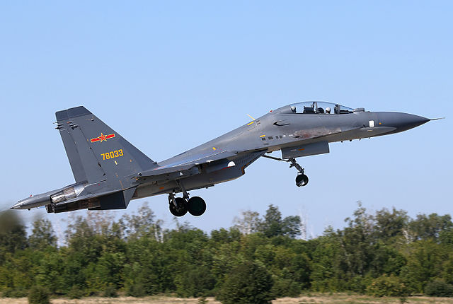 A Chinese Su-30 (photo courtesy of Dmitriy Pichugin).