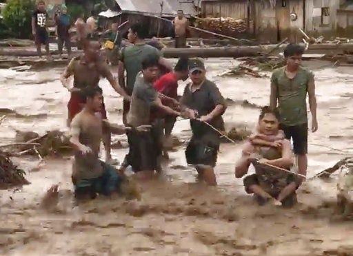 Tembin leaves 75 dead, dozens missing in southern Philippines