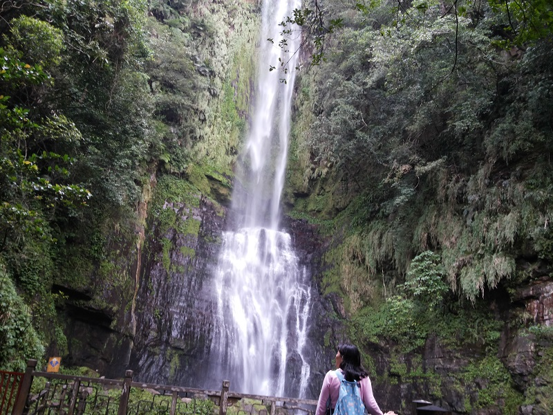 The Wufongchi Waterfalls