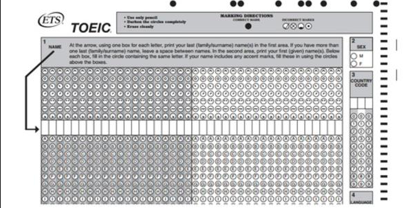 Remedial measures for canceled TOEIC test
