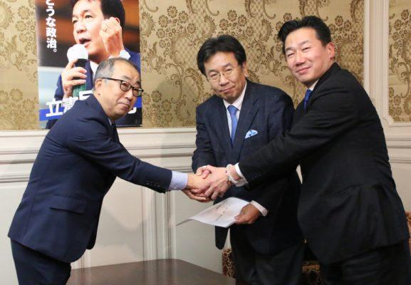 日本在野黨分裂加劇 蓮舫恐加入立憲民主黨
