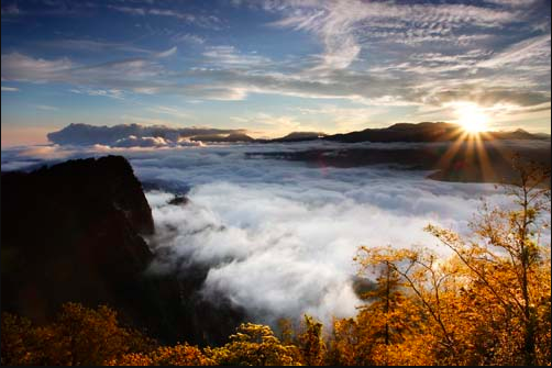 Check out the best places in Taiwan to watch the first sunrise of 2018
