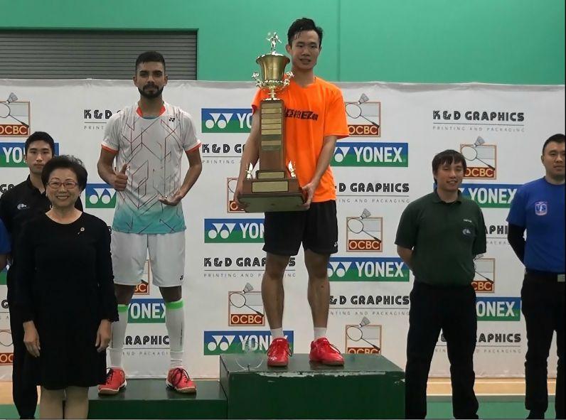 Badminton player Lu Chia-hung wins BWF challenge event in California