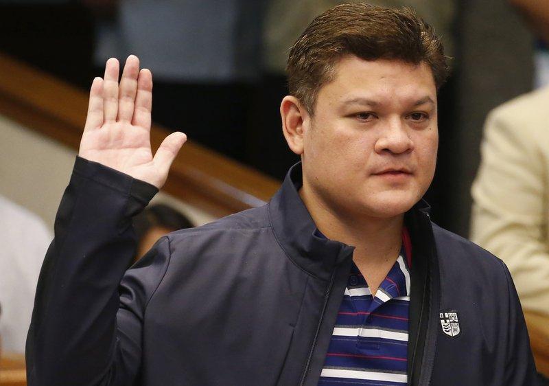 納卯市副市長巴奧洛.杜特蒂(Paolo Duterte)(圖片來源:美聯社)