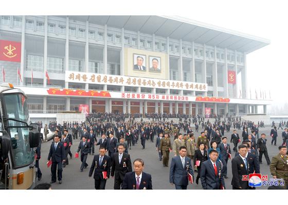 北韓示意圖(圖片來源: 朝鮮中央通信)