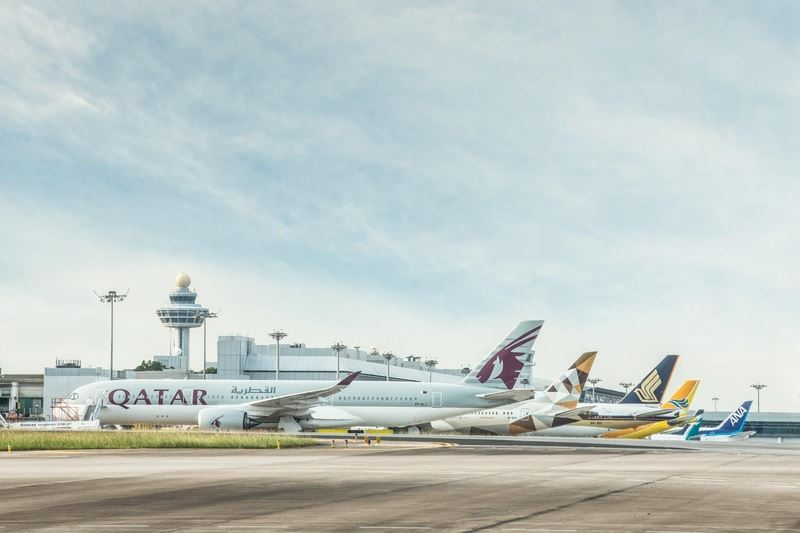 新加坡樟宜機場明年元月起施行寧靜機場計畫,除特殊情形外,將全面停止呼叫旅客登機廣播服務。(圖取自樟宜機場臉書facebook.com/ch...