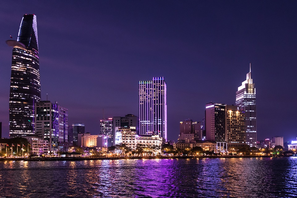 The photo shows Ho Chi Minh City (Credit: Pixabay)