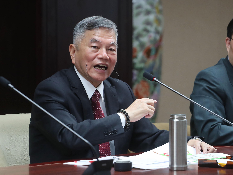 經濟部長沈榮津。