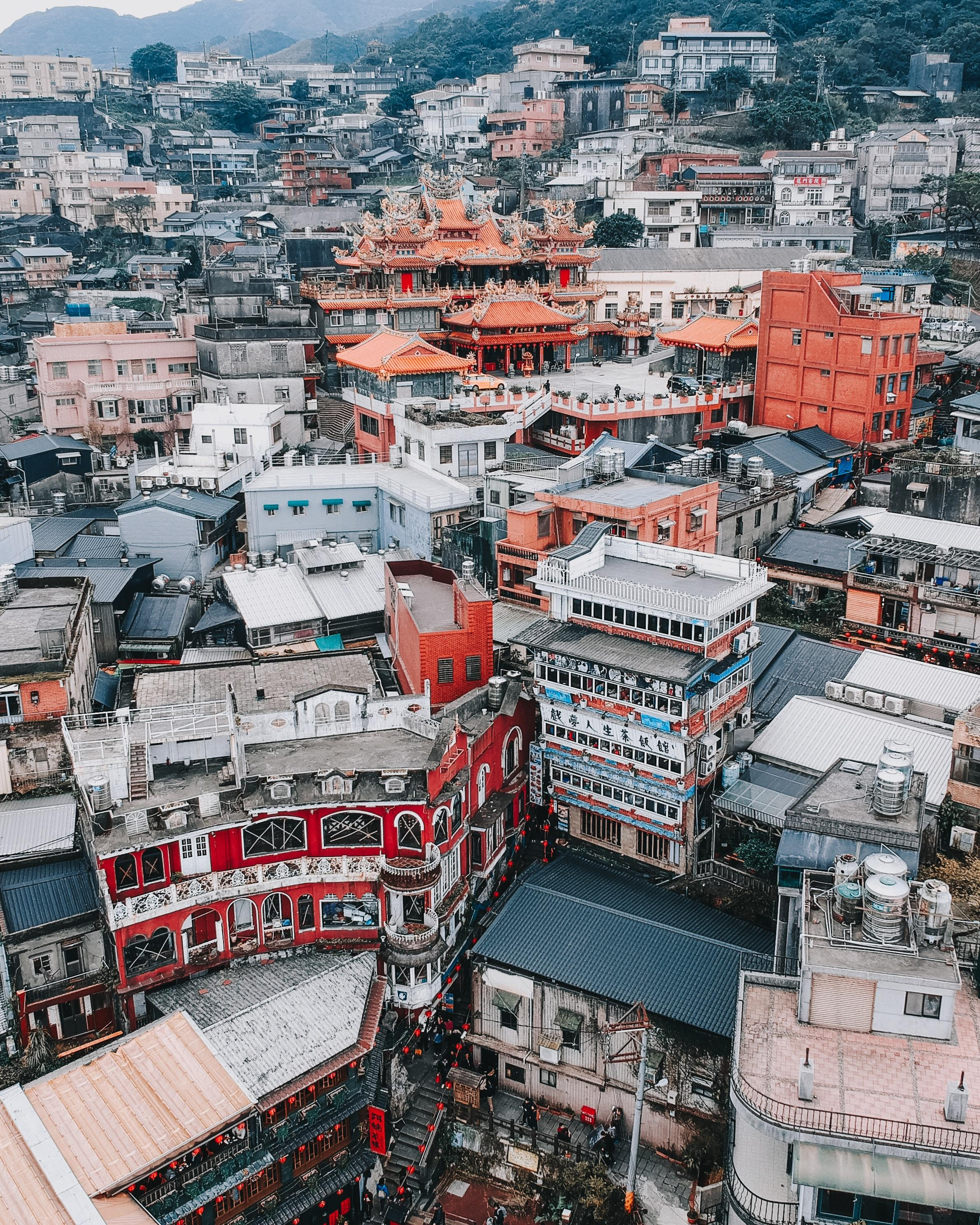Jiufen from above. (Image by Instagram user @thefuryandsound)