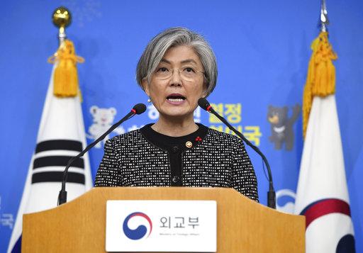 韓國外長康京和(圖片來源:美聯社)