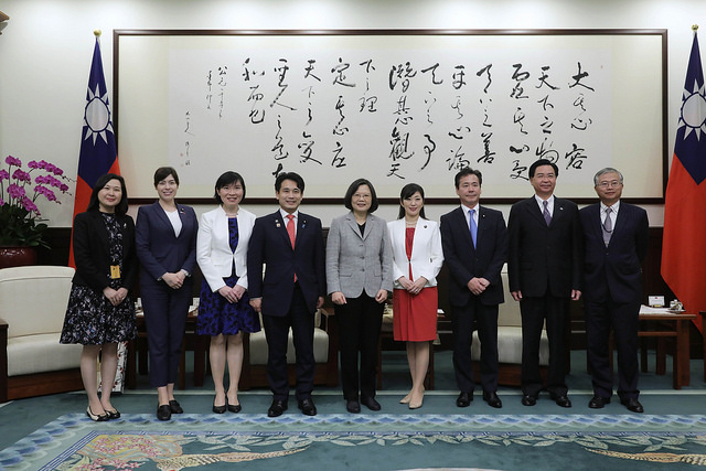 President Tsai calls for expanded collaboration with Japan