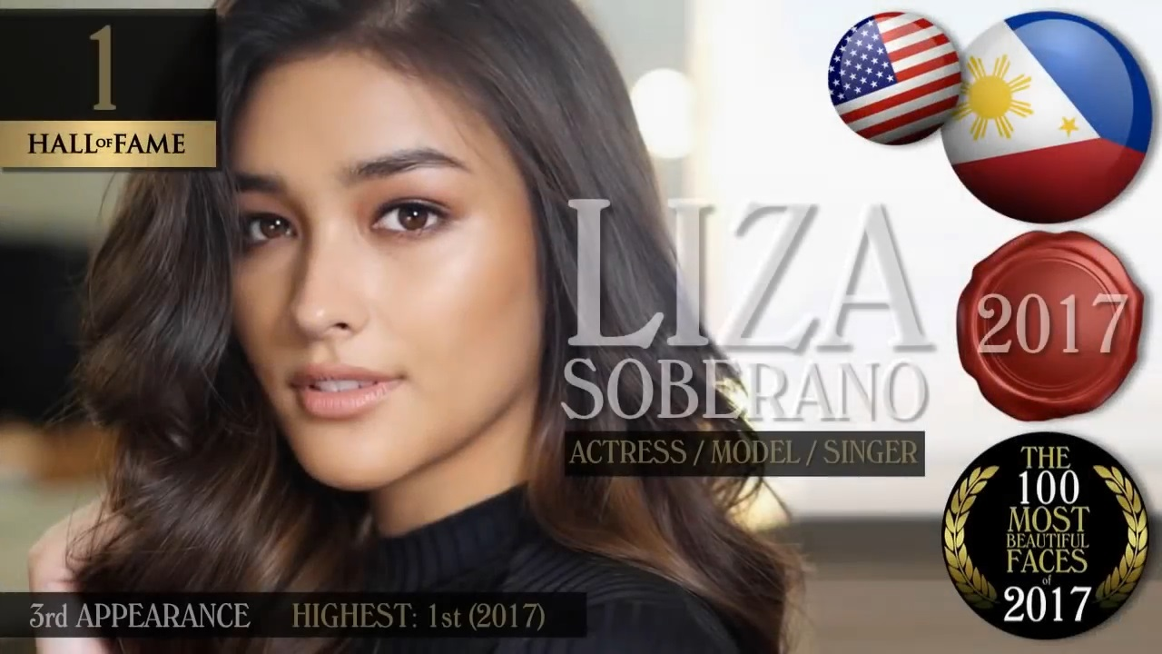 Filipino-American Liza Soberano. (TC Candler YouTube video screenshot)