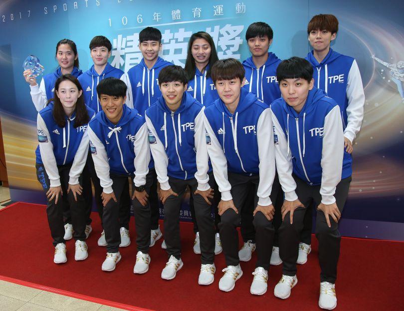 Athletes honored at 2017 Taiwan Sports Elite Awards