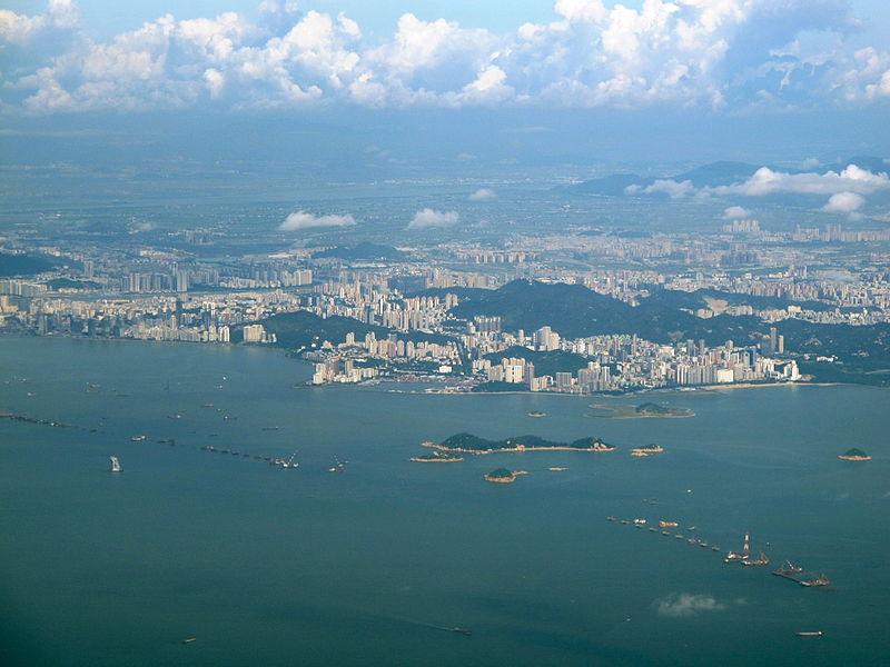 繼昆山後,珠海政府也對當地沿岸企業與工廠發布限產限排的命令。 (維基百科)