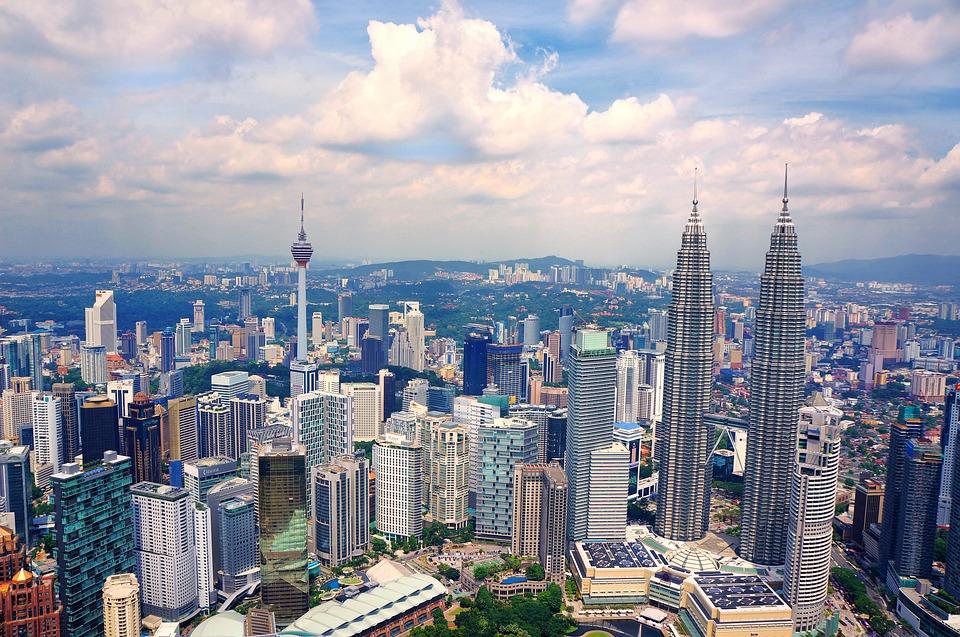 圖片顯示馬來西亞吉隆坡(圖片來源:Pixabay)