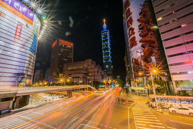 台北市信義區(照片來源:Wei-Te Wong/Flickr)
