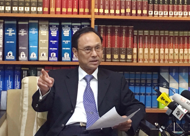亞西及非洲司長陳俊賢