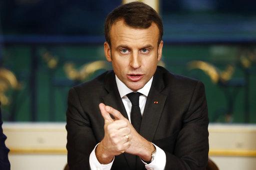 法國總統馬克宏(圖片來源:美聯社)