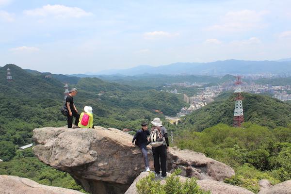 金面山環狀步道(照片提供:台北市政府工務局大地工程處道路步道科)