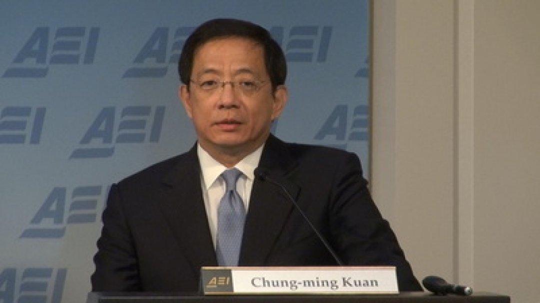 NTU President-elect Kuan Chung-ming.