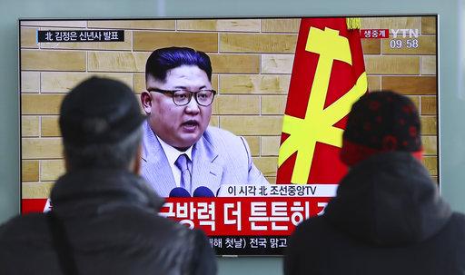 他「絕對」願意透過電話與北韓領導人金正恩通話,並期待兩韓會談能有正向良好的結果。這與前幾日大罵內幕新書的口吻相差甚遠。(圖片來源:AP)