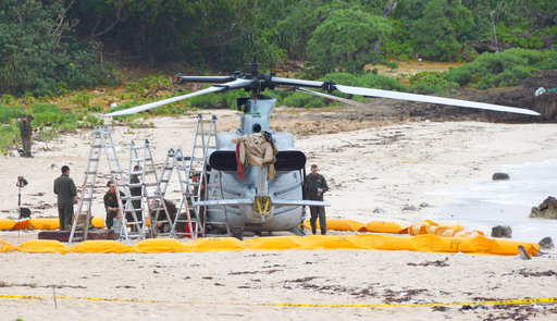 Another US military chopper makes emergency landing near Okinawa hotel