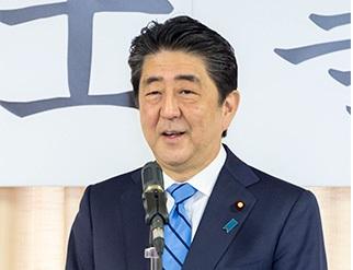 日本首相安倍晉三(圖片來源:自民黨官網)