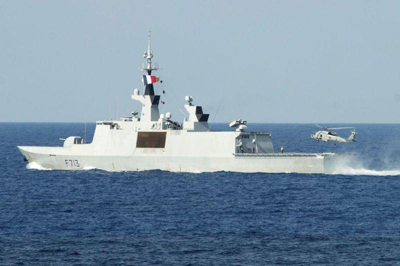 圖為法國海軍拉法葉級巡防艦「阿克尼特號」(Aconit)。(資料照,取自維基百科)
