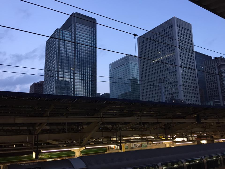 日本東京中心商業區(圖片來源:吳東文攝)