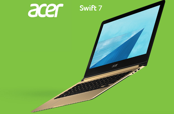 Acer announces refreshed Swift 7 as 'the world's thinnest laptop'