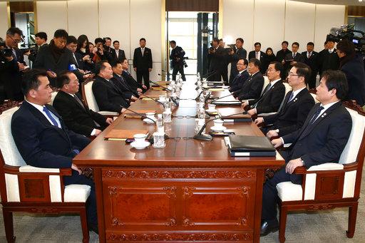 南北韓高官會談(圖片來源:美聯社)