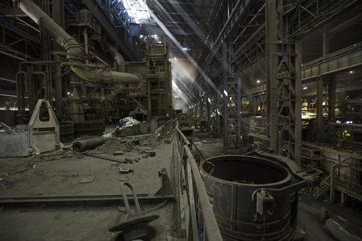 被委内瑞拉政府收歸國有後的工廠的慘狀(圖片來源:美聯社)