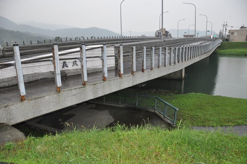 The bridge under which the two runaway schoolboys spent a cold night